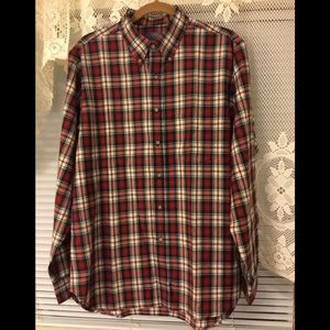 Pendleton checkered button down shirt